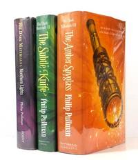 image of His Dark Materials;  1. Northern Lights [Golden Compass] 2. The Subtle Knife 3. The Amber Spyglass