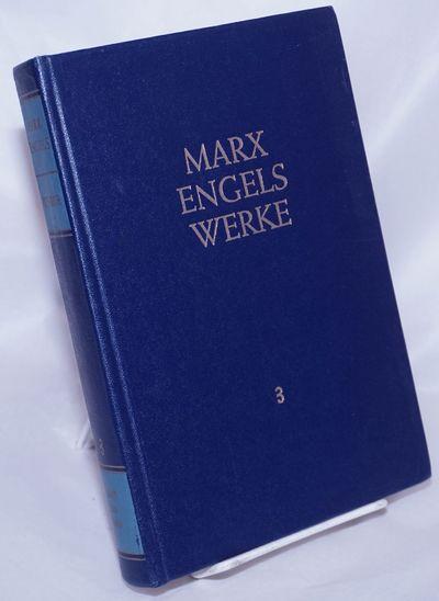 Berlin: Dietz Verlag, 1981. Hardcover. xi, 610p., hardbound in dark blue cloth boards gilt-titled on...