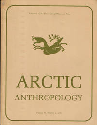 image of ARCTIC ANTHROPOLOGY. Vol. VI, No. 2. 1970. (Cover title).