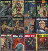 Astounding Science Fiction 1951 January, February, March, April, May, June, July, August, September, October, November, December: Iceworld / Dianometry / Berom / And Then There Were None / Dune Roller / The Weapon / Others