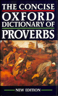 image of The Concise Oxford Dictionary Of Proverbs