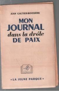 Mon journal dans la drole de guerre