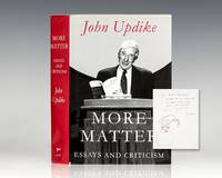 image of More Matter: Essays and Criticism.