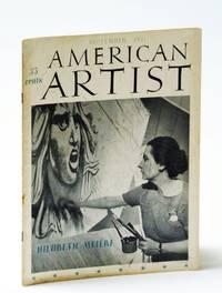 American Artist Magazine, September (Sept.) 1941: Hildreth Meiere - Mural Painter (cover photo)