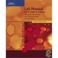 image of Lab Manual for A+ Guide to Software: Managing, Maintaining, and Troubleshooting, Second Edition