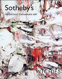 IMPORTANT CANADIAN ART; The Estate of Harold Town,Toronto, The Estate of Alexandra Luke, Ontario
