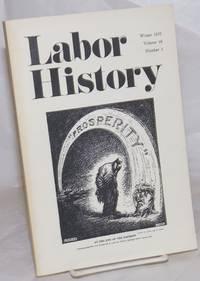 image of Labor history. vol 16, no. 1, Winter, 1975