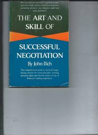The Art and Skill of Successful Negotiation