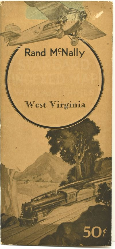 Chicago: Rand McNally and Company, 1929. Near Fine binding. A large folding map of West Virginia, pr...