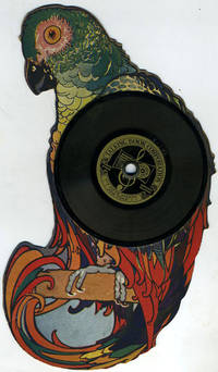 """""""I Am A Parrot"""". Die Cut Parrot with vinyl record made by the Emerson Phonograph Company"""