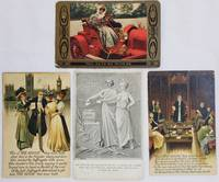Collection of 4 original Suffrage Postcards c. 1900s-1910s