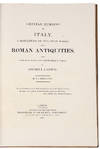 View Image 3 of 4 for Grecian Remains in Italy, a Description of Cyclopian Walls and of Roman Antiquities. With topographi... Inventory #39369