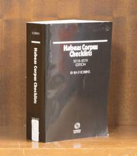 Habeas Corpus Checklists, 2018-2019 edition. 1 volume