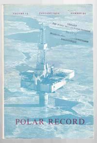 Polar Record Volume 15 Number 94 January 1970