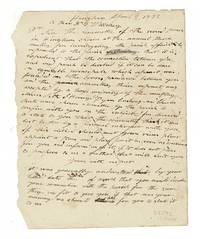 Draft letter to Nicholas Whitney on the dissolution of a ministry commission