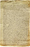 Manuscript Letter - Primary Source Letter to the Pope Regarding Commerce Trade in California  - Text in Italian