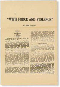 image of With Force And Violence