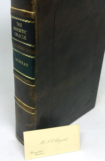 London: H. Fisher, Son, and Co., nd c. 1826. Hardcover. Rebound in brown calf, tooled in gilt, raise...