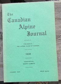 The Canadian Alpine Journal 1936 volume XXIV twenty-four