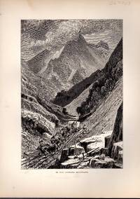 """ENGRAVING:""""In the Carrara Mountains """"...engraving from Picturesque Europe"""