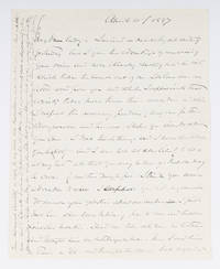 """Autograph Letter Signed (""""OWH"""") to Lady Clare Castletown, 1897"""