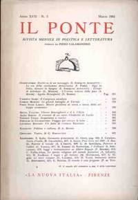 IL PONTE - MARZO 1961