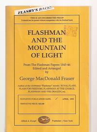 image of FLASHMAN AND THE MOUNTAIN OF LIGHT: FROM THE FLASHMAN PAPERS 1845-46