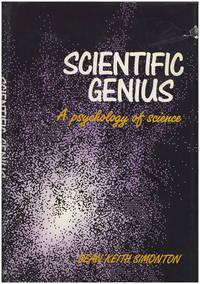 Scientific Genius: A Psychology of Science