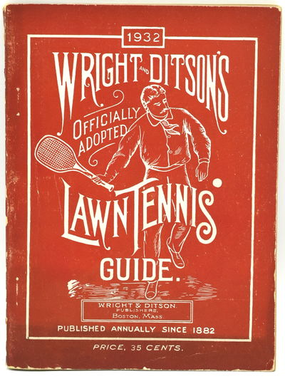 Boston, Mass: Wright and Ditson Publishers, 1932. Soft Cover. Very Good binding. 16mo.; in the publi...