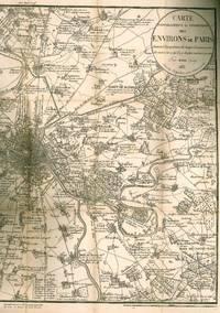 image of Carte topographique et statistique des environs de Paris, donnant la population de chaque commune, avec des notes sur ce qu''il y a de plus curieux à y voir