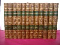 THE DRAMATIC WORKS OF WILLIAM SHAKESPEARE from the Correct Edition of Issac Reed with Copious annotations (complete in 12 volumes)