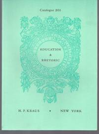 Catalogue 201: Education & Rhetoric.