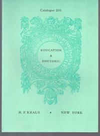 image of Catalogue 201: Education_Rhetoric.