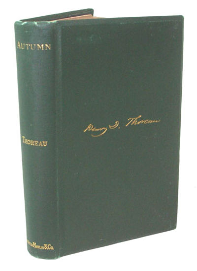 Boston: Houghton, Mifflin and Comapny, 1892. First Edition. First printing Very near fine in the pub...