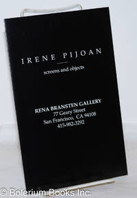 image of Irene Pijoan: Screens and Objects