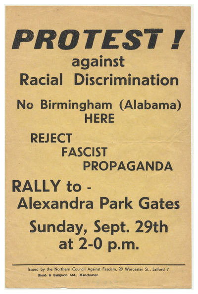 Protest! against Racial...