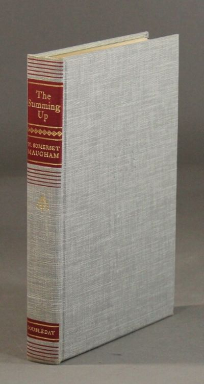 Garden City: Doubleday, 1954. Edition limited to 391 copies signed by Maugham (this being no. 206); ...