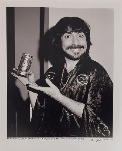 Denver, 1976. Limited edition (1 of 6). Description: Keith Moon, of the band The Who, at McNichols S...