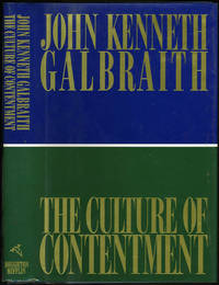 image of The Culture of Contentment. Signed