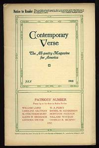 Contemporary Verse: July 1918