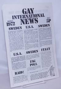 image of Gay International News: #2, March 1972