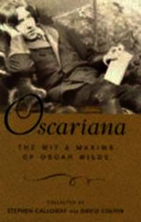 Oscariana by Oscar Wilde - Hardcover - 1997-10-06 - from Books Express and Biblio.com