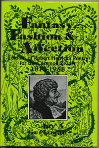 Fantasy, Fashion and Affection.  Editions of Robert Herrick's Poetry For the Common Reader,...