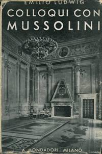 Colloqui con Mussolini.