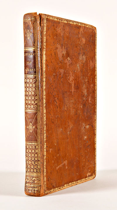 Paris: Chez Maradan, Libraire, 1808. xiv,287,pp. Half title. Contemporary tree calf, boards with gil...