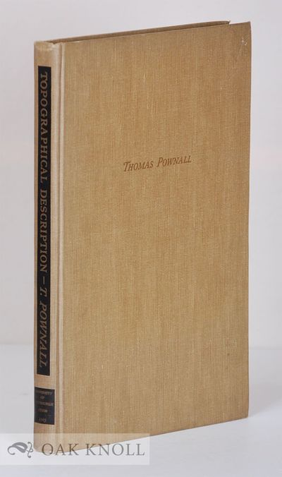Pittsburgh: University of Pittsburgh Press, 1949. cloth. Maps. 4to. cloth. xvi, 235 pages with a fol...