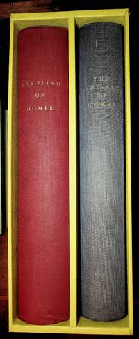 image of The Iliad of Homer & The Odyssey of Homer (each a Limited Editions Club of 1500 copies, these both #624)