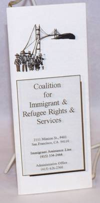 Coalition for Immigrant & Refugee Rights & Services [brochure]