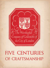 FIVE CENTURIES OF CRAFTSMANSHIP. (Cover title).