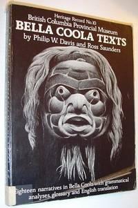 Bella Coola texts (Heritage record)